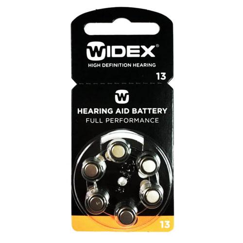 Батарейки для слуховых аппаратов Widex