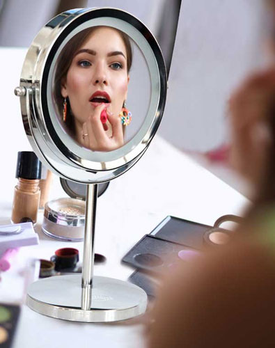 Настольное косметическое зеркало