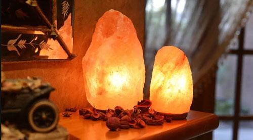 Солевая лампа для дома и помещений