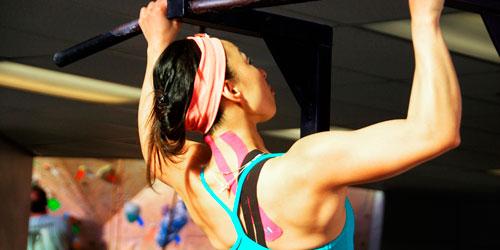 Спортивный пластырь (тейп) для мышц
