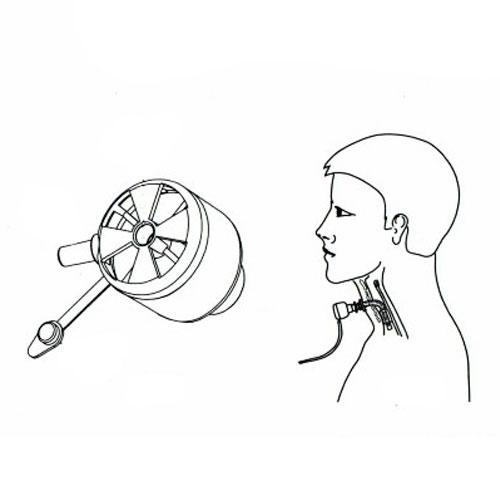 Тепловлагообменник для трахеостомы