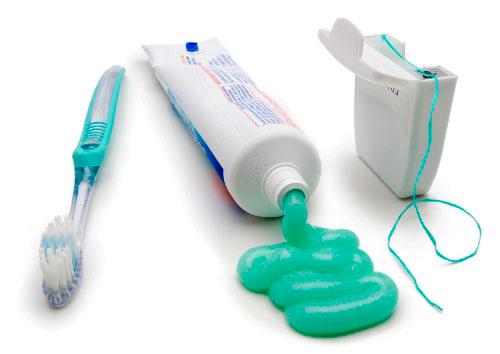 Основные средства по уходу за зубами
