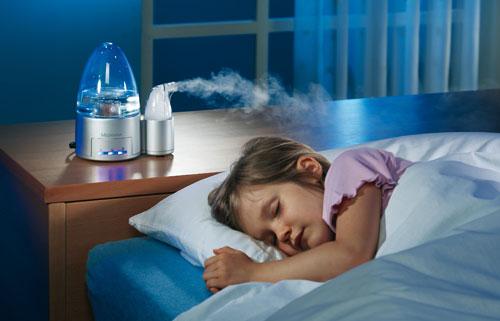 Домашний увлажнитель воздуха для детей