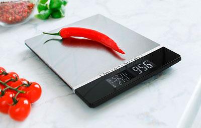 Бытовые весы для взвешивания продуктов
