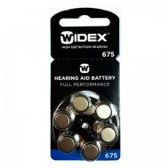 Батарейки Widex 675 для слуховых аппаратов