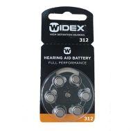 Батарейка WIDEX p312 (комплект 6 штук)