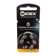 Батарейка WIDEX p10 (комплект 6 штук)