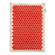 Тибетский аппликатор Большой коврик Красный с эффектом памяти