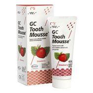 Клубничный для реминерализации зубных тканей GC Tooth Mousse