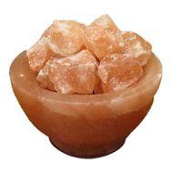 Лампа из гималайской соли Огненная ваза