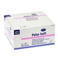 Бинт фиксирующий эластичный нестерильный без латекса PEHA-HAFT 20 м*4 см белый 932446