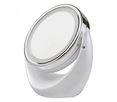 Зеркало Gezatone LM-110 косметическое, с увеличением и подсветкой