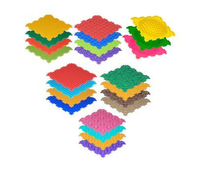 Массажные коврики ОРТО, набор-игра «Сундучок здоровья. Приключения на лесной полянке»
