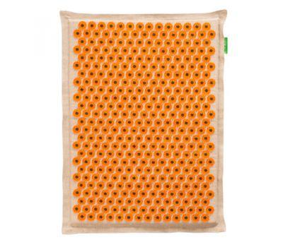 Тибетский аппликатор Большой коврик желтый с эффектом памяти
