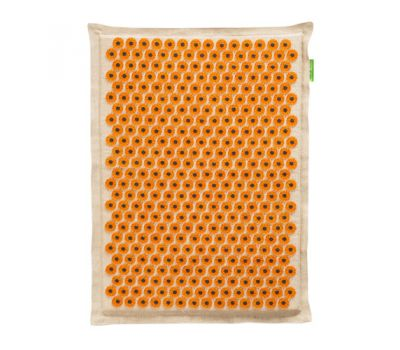 Тибетский аппликатор Кузнецова большой коврик желтый